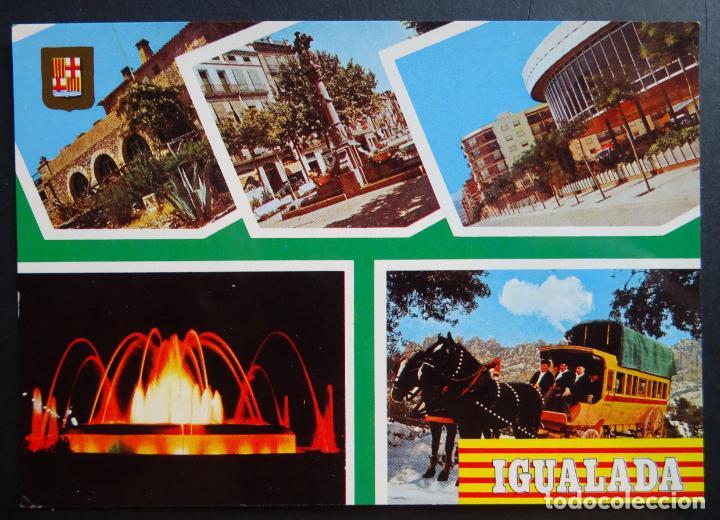 IGUALADA ( BARCELONA ) , POSTAL SIN CIRCULAR (Postales - España - Cataluña Moderna (desde 1940))