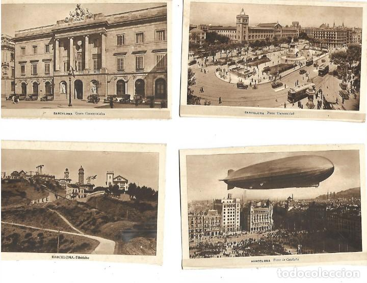 LOTE DE 12 POSTALES DE BARCELONA (Postales - España - Cataluña Antigua (hasta 1939))
