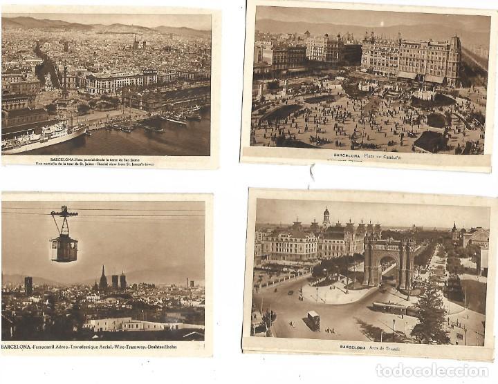 Postales: LOTE DE 12 POSTALES DE BARCELONA - Foto 2 - 236417675