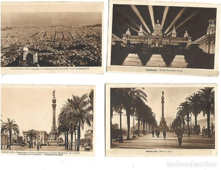 Postales: LOTE DE 12 POSTALES DE BARCELONA - Foto 3 - 236417675