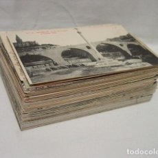 Postales: LOTE POSTALES BARCELONA Y PROVINCIA-AÑO 1910 A 1970- CASTELLDEFELS-SARRIA-BERGA-FAY-ARENYS-MANRESA…. Lote 236435935