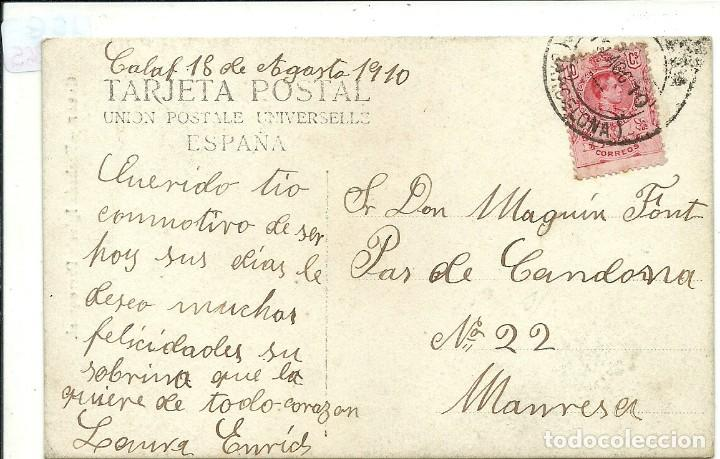 Postales: (PS-64365)POSTAL FOTOGRAFICA DE CALAF-FACHADA IGLESIA PARROQUIAL - Foto 2 - 236774015