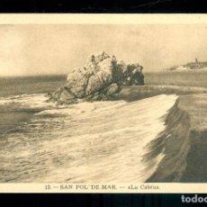 Postales: NUMULITE P0205 POSTAL 12 SANT POL DE MAR LA CABRA L. ROISIN FOT. BARCELONA. Lote 236778095