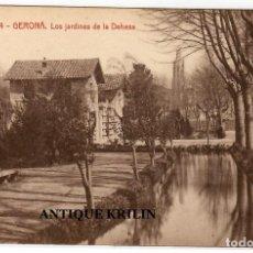 Postales: GERONA Nº 4 LOS JARDINES DE LA DEHESA / EDICION DALMAU CARLES PLA. Lote 236779050