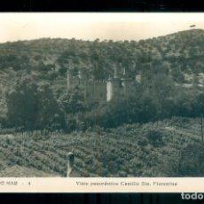 Postales: NUMULITE P0206 POSTAL CANET DE MAR 4 VISTA PANORÁMICA CASTILLO SANTA FLORENTINA EDIC. VILÁ. Lote 236779805