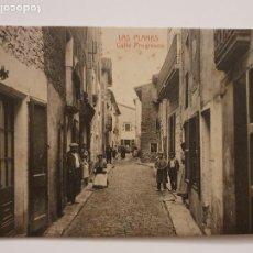 Postales: LES PLANES D'HOSTOLES - CARRER / CALLE PROGRÉS - P44021. Lote 236839525