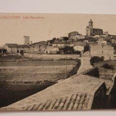 Postales: LLAGOSTERA - CARRER / CALLE BARCELONA - P44022. Lote 236839630