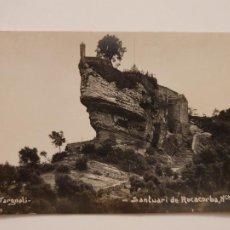 Postales: SANTUARI DE ROCACORBA - V. FARGNOLI - P44028. Lote 236840810