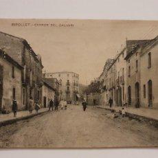 Postales: RIPOLLET - CARRER DEL CALVARI - P44031. Lote 236841005