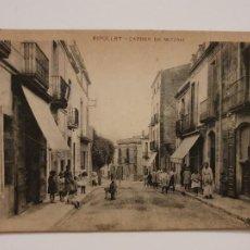 Postales: RIPOLLET - CARRER DE MIGDIA - P44032. Lote 236841060