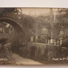 Postales: TARADELL - FONT DE SANT JAUME - P44050. Lote 236843480