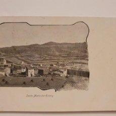 Postales: SANTA MARIA DE L'ESTANY - SERIE CORRENT PER CATALUNYA - P44057. Lote 236844620