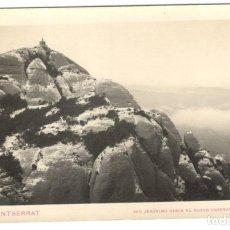Postales: POSTAL FOTOGRAFICA - MONTSERRAT - SAN JERONIMO DESDE EL NUEVO OBSERVATORIO.. Lote 236999290