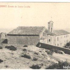 Postales: MONTSERRAT - ERMITA DE SANTA CECILIA Nº48. FOTOTIPIA THOMAS.. Lote 236999640