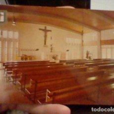 Postales: SALOU TARRAGONA SANTA MARIA PINEDA ESC ORO 2 HERMANDADES TRABAJO CIRCVLADA COLONIAS CAPILLA. Lote 237389535