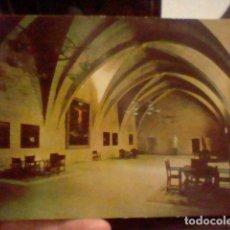 Postales: POBLET MONASTERIO SALA LOCVTORIO FOTO RO Nº 35 CIRCVLADA. Lote 237391030