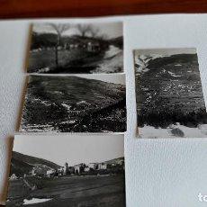 Postales: T-514.- LOTE DE -- 4 -- POSTALES FOTOGRAFICAS DE PLANOLAS , DIVERSOS LUGARES DE LA POBLACION. Lote 237700630