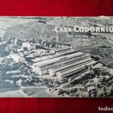 Postales: CONJUNTO DE POSTALES CODORNIU SAN SADURNI DE NOYA - AÑOS 60 - 10 UD.. Lote 238296815