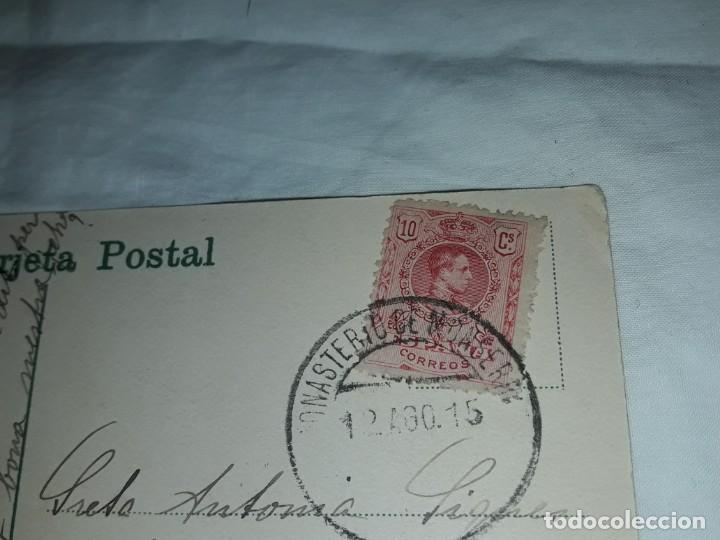 Postales: Antigua postal Montserrat Mirador de la Cúspide de San Jerónimo año 1915 escrita con sello - Foto 5 - 238676985