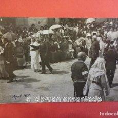 Postales: CASTELLTERSOL. BALL DEL CIRI. AGOST 1915. POSTAL FOTOGRÁFICA. Lote 239441910