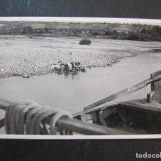 Postales: GARCIA DE EBRO-LAVANDERAS-FOTOGRAFICA-POSTAL ANTIGUA-(77.364). Lote 239445695