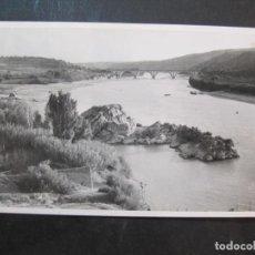 Postales: GARCIA DE EBRO-PUENTE-FOTOGRAFICA-POSTAL ANTIGUA-(77.365). Lote 239445780