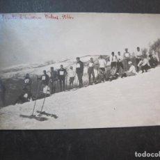 Postales: RIBAS-ESPORTS D'HIVERN-ANY 1926-FOTOGRAFICA-POSTAL ANTIGUA-(77.377). Lote 239449540