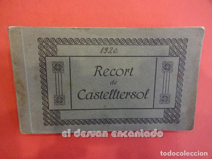 CASTELLTERSOL. BLOC 15 POSTALES. RECORT DE CASTELLTERSOL. CALVÓ-FRUITÓS (Postales - España - Cataluña Antigua (hasta 1939))