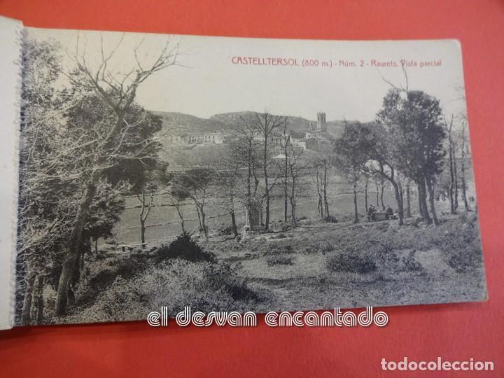 Postales: CASTELLTERSOL. Bloc 15 postales. Recort de Castelltersol. Calvó-Fruitós - Foto 3 - 239450225
