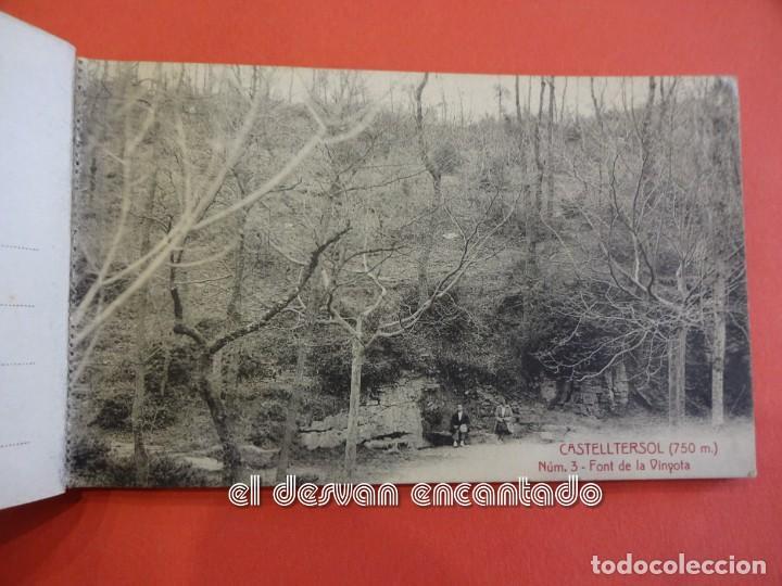 Postales: CASTELLTERSOL. Bloc 15 postales. Recort de Castelltersol. Calvó-Fruitós - Foto 4 - 239450225
