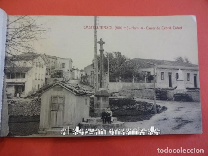 Postales: CASTELLTERSOL. Bloc 15 postales. Recort de Castelltersol. Calvó-Fruitós - Foto 5 - 239450225