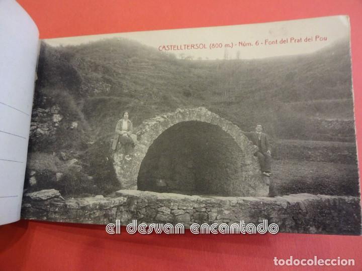 Postales: CASTELLTERSOL. Bloc 15 postales. Recort de Castelltersol. Calvó-Fruitós - Foto 7 - 239450225