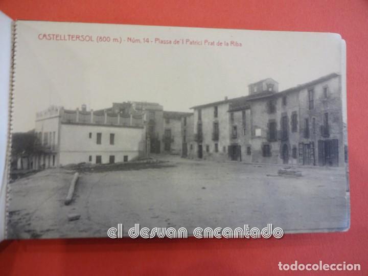 Postales: CASTELLTERSOL. Bloc 15 postales. Recort de Castelltersol. Calvó-Fruitós - Foto 15 - 239450225