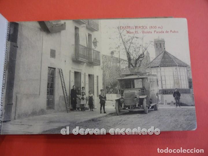 Postales: CASTELLTERSOL. Bloc 15 postales. Recort de Castelltersol. Calvó-Fruitós - Foto 16 - 239450225
