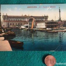 Postales: TARJETA POSTAL DE BARCELONA 34, UNIÓN POSTAL UNIVERSAL. Lote 240547510
