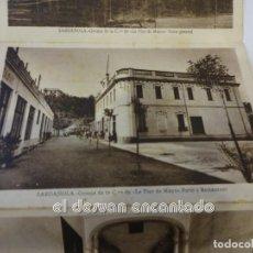 Postales: SARDAÑOLA. COOPERATIVA OBRERA LA FLOR DE MAYO. ACORDEÓN 12 POSTALES (FALTAN TAPAS). Lote 241077710