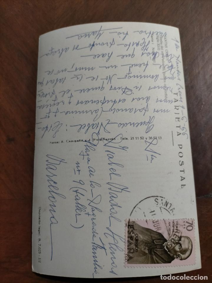 Postales: Antiguas 7 postales religiosas de cataluña catalunya, diferentes iglesias y obras - Foto 2 - 241108225