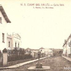 Postales: BARCELONA - SANT CUGAT DEL VALLÉS, CALLE VILLÀ.. Lote 241914245