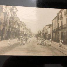 Postales: POSTAL GIRONELLA , PUEBLO NIÑOS FERROCARRIL , 1911 OBRADORS SABADELL. Lote 241951575