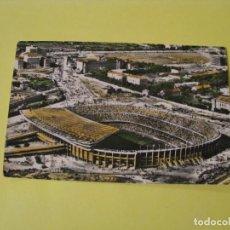 Cartoline: POSTAL FOTOGRÁFICA DE BARCELONA. VISTA AÉREA DEL ESTADIO CLUB DE FÚTBOL BARCELONA. ED. SOBERANAS.. Lote 241963905