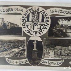 Postales: SALLENT FOMENT DE LA SARDANA 1923. Lote 242064785