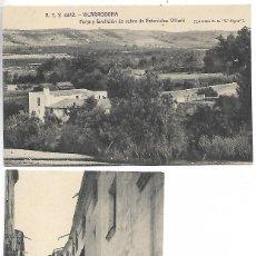 Postais: DOS POSTALES A.T..V. Nº 4443 - 4442 - VISTAS DE VILARRODONA - VER FOTOS. Lote 243381765