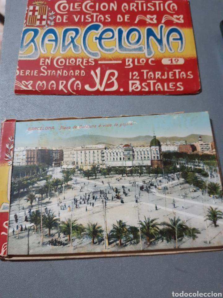 Postales: Taco con 12 Postales de Barcelona Block 1° - Foto 2 - 243443055