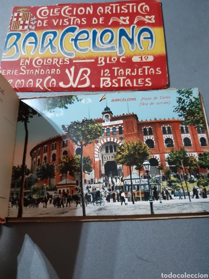Postales: Taco con 12 Postales de Barcelona Block 1° - Foto 3 - 243443055