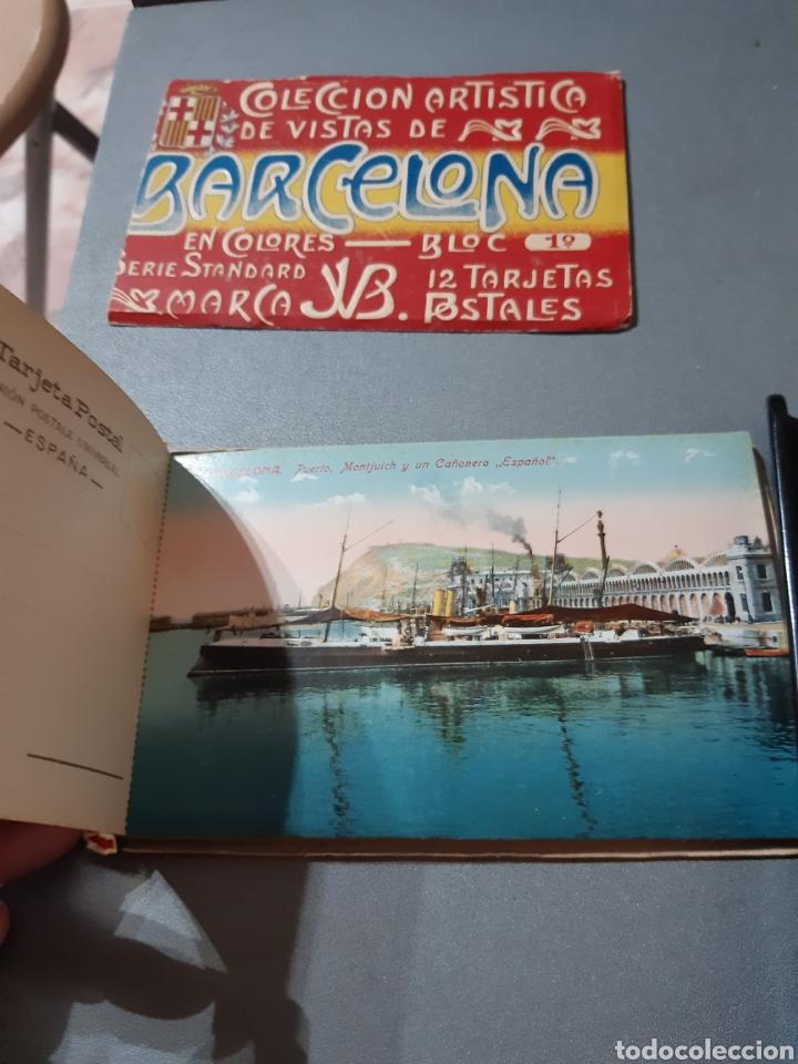 Postales: Taco con 12 Postales de Barcelona Block 1° - Foto 4 - 243443055