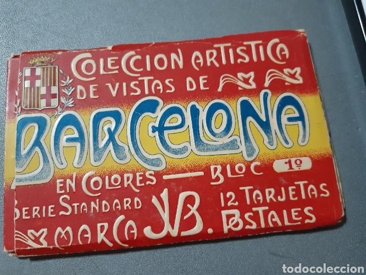 TACO CON 12 POSTALES DE BARCELONA BLOCK 1° (Postales - España - Cataluña Antigua (hasta 1939))
