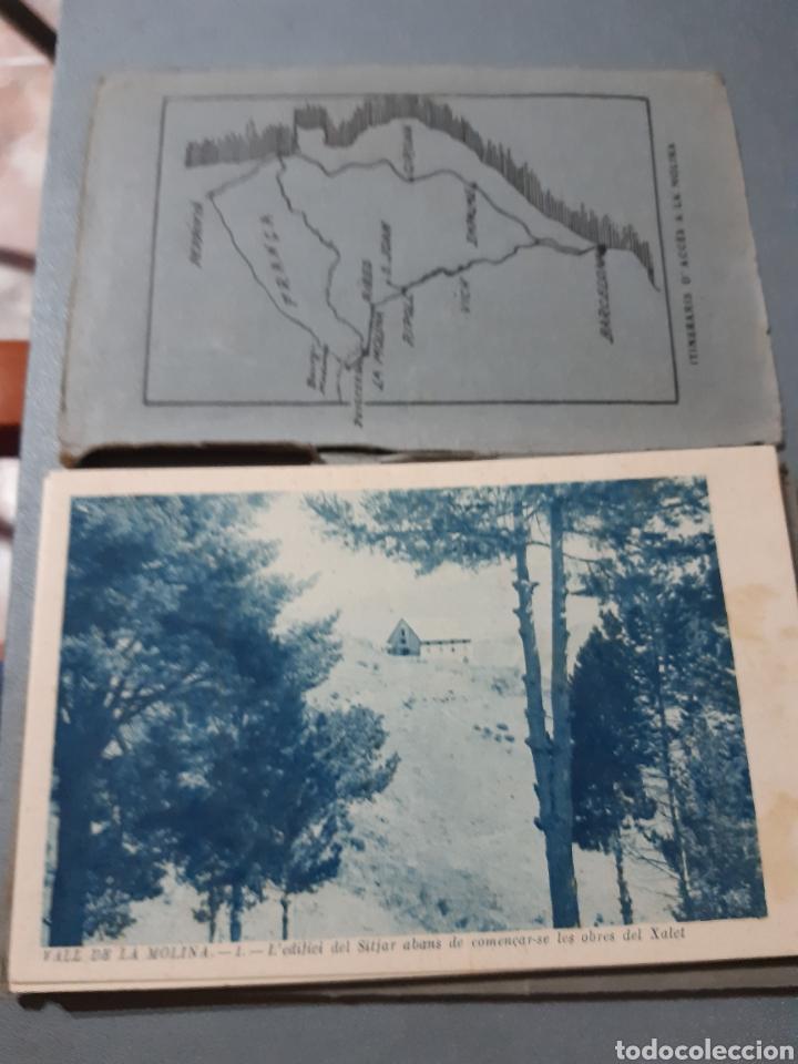 12 POSTALES DE LA VALL DE LA MOLINA (Postales - España - Cataluña Antigua (hasta 1939))