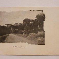 Postales: SÈRIE CORRENT PER CATALUNYA - DE CALDERS A MANRESA - LCC - P46737. Lote 243481525