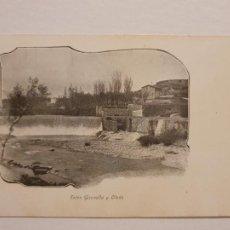 Postales: SÈRIE CORRENT PER CATALUNYA - ENTRE GIRONELLA I OLVAN - LCC - P46738. Lote 243481805