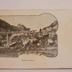 Postales: SÈRIE CORRENT PER CATALUNYA - CASTELL DE BERGA - LCC - P46739. Lote 243482120